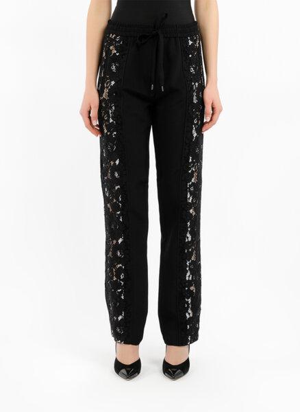 Панталон с детайл от дантела Nº21