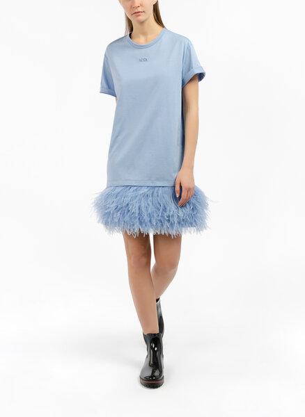 Мини рокля с детайл Nº21