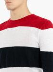 Пуловер в райе Eleventy