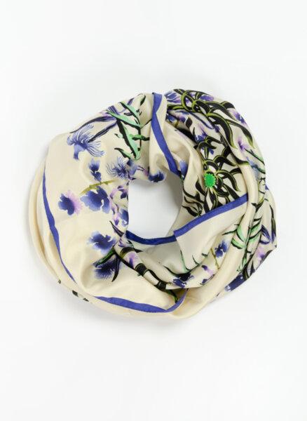 Флорален копринен шал Kenzo