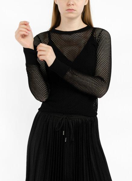Блуза от мрежеста материя Marella Tonale