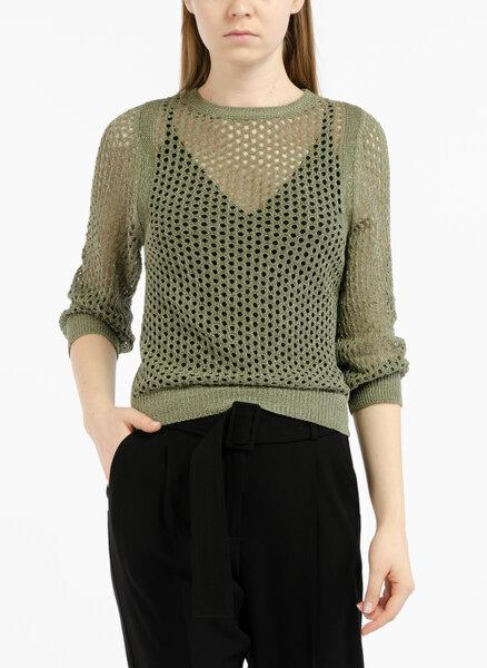 Пуловер от мрежеста материя Marella Marea