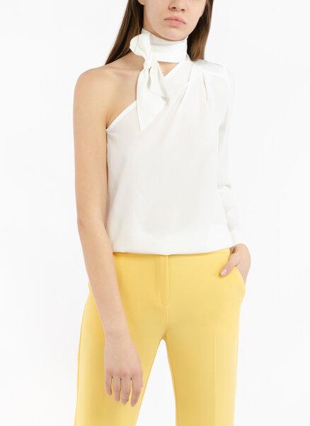 Копринена блуза с панделка Pennyblack Elefante