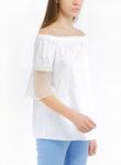 Блуза с прозрачен панел Pennyblack Ellise