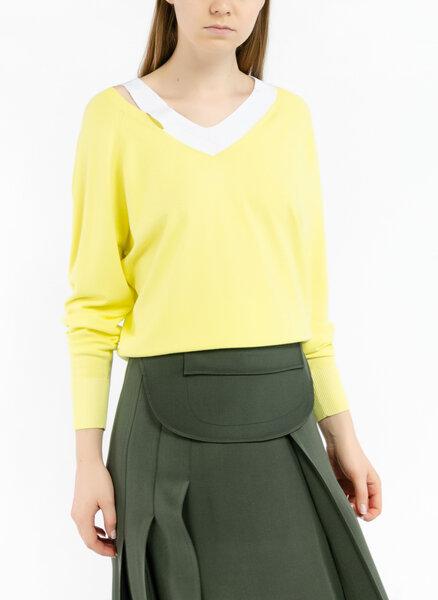 Пуловер с  'Color block' детайл Sportmax Elenia