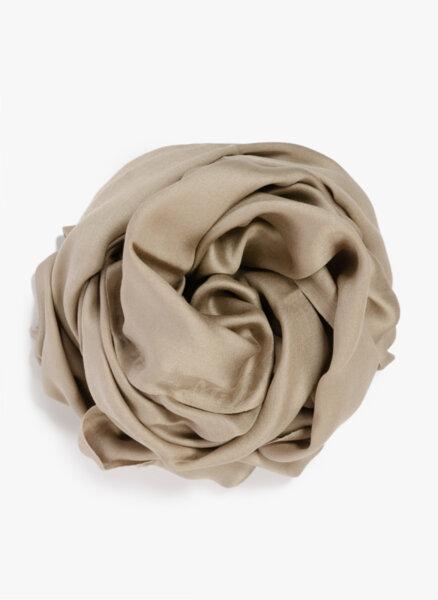 Копринен шал с ресни Max Mara Upupa