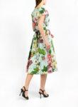Миди рокля от поплин Dolce&Gabbana