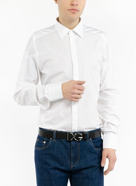 Риза от памук Dolce&Gabbana