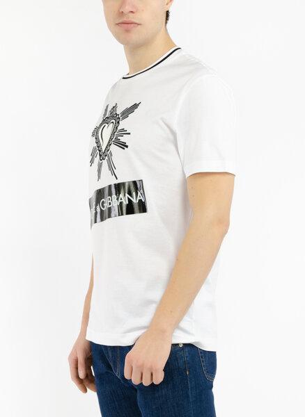 Тишърт с лого принт Dolce&Gabbana