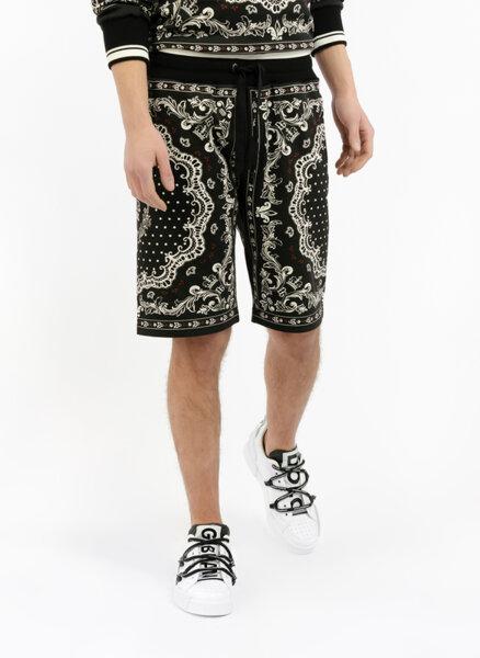 Къси панталони с 'Bandana' принт Dolce&Gabbana