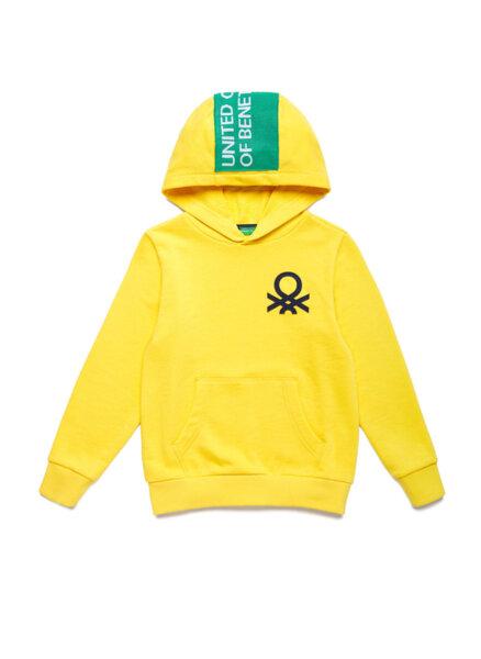 Суетшърт с лого Benetton
