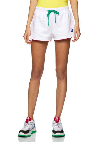 Къси панталони с връзки Benetton