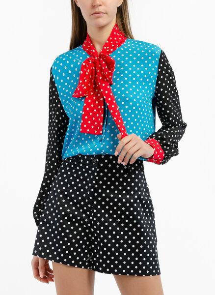 Риза с 'Polka dot' принт Boutique Moschino