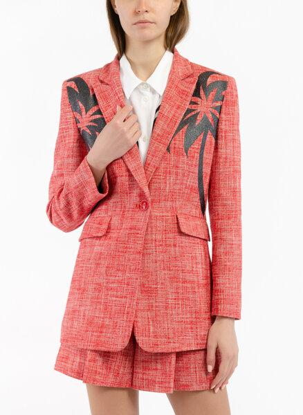 Блейзър с 'Palm tree' принт Boutique Moschino