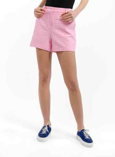 Къс панталон с анималистичен принт Boutique Moschino