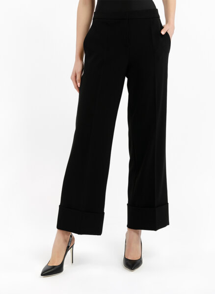 Панталон с 'wide-leg' Boutique Moschino