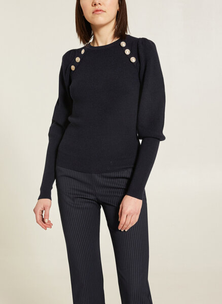 Пуловер с рипс Motivi
