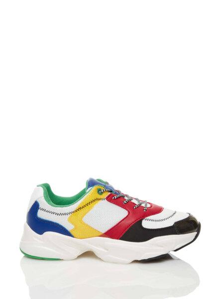 Спортни обувки с лого Benetton