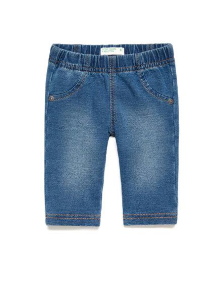 Панталон с деним ефект Benetton New born