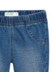 Панталон с деним ефект Benetton-Copy