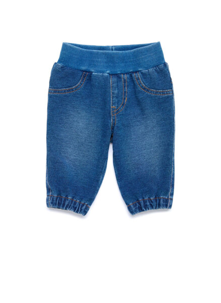 Еластичен панталон с деним ефект Benetton