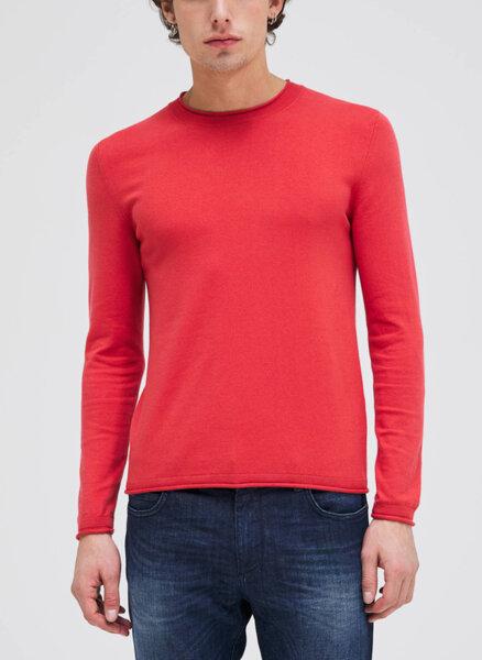 Памучен пуловер Sisley