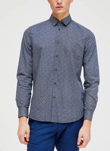 Риза с цялостен принт Sisley