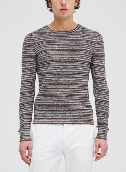 Пуловер в райе Sisley