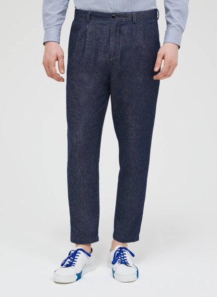 Панталон с деним ефект Sisley
