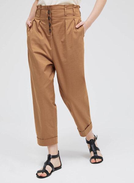 Панталон с двойно плисе Sisley