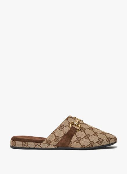 Обувки тип 'slipper' Horsebit Gucci