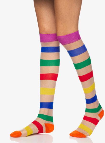 Чорапи в цветно райе Benetton