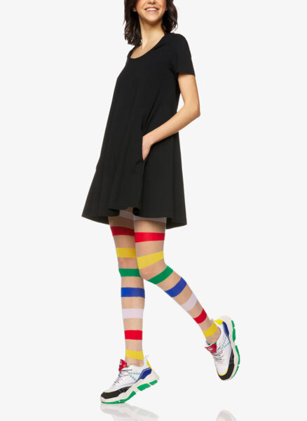 Чорапогащник в цветно райе Benetton