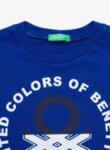 Тениска с принт Benetton-Copy