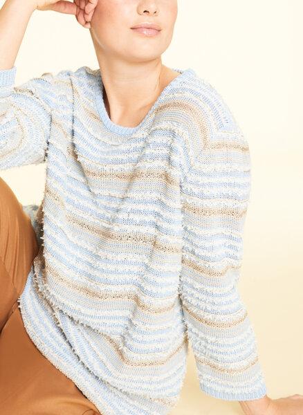 Памучен пуловер Marina Rinaldi Acanto