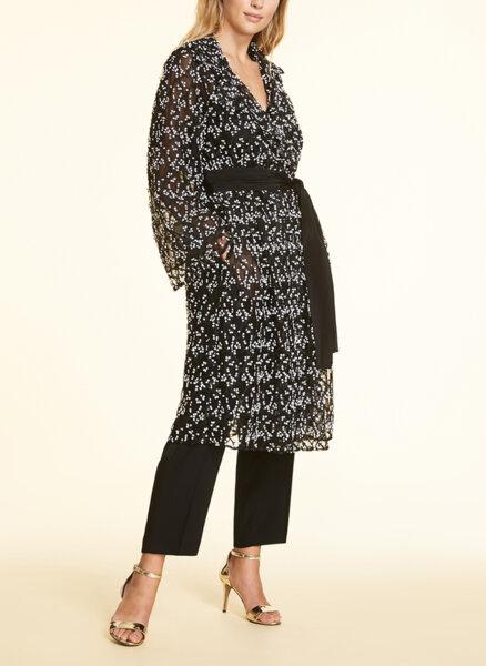 Палто от тюл тип 'duster' Marina Rinaldi Elegante