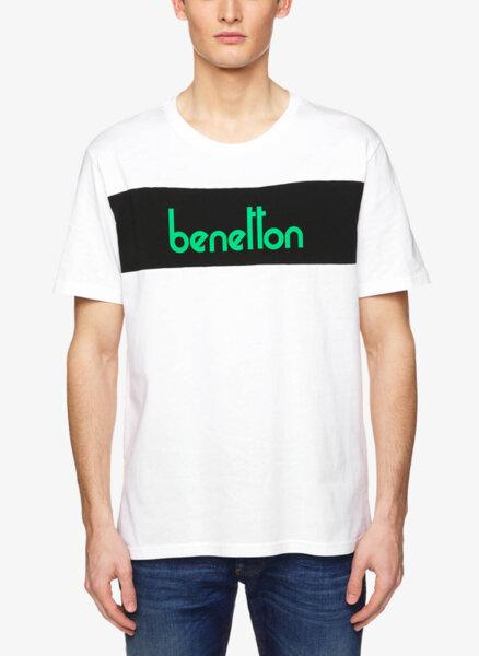 Тишърт с принт Benetton