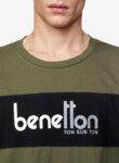 Тишърт с принт Benetton-Copy