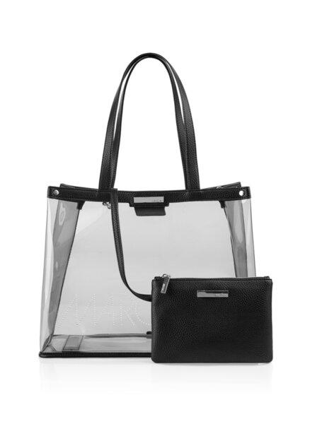 Чанта с перфорирано лого Marc Cain