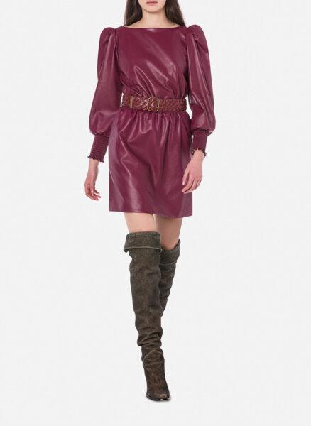 Мини рокля с буфан ръкав Philosophy di Lorenzo Serafini