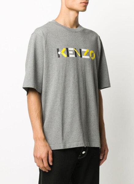 Тишърт с лого принт Kenzo
