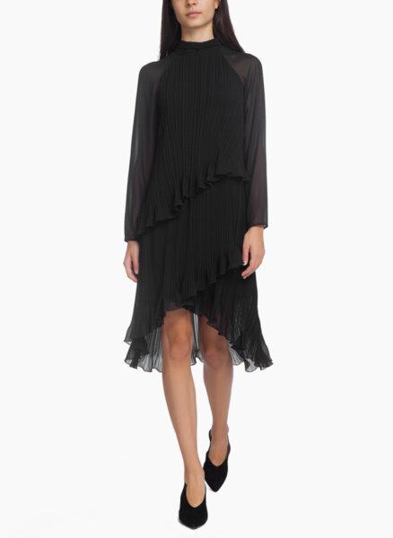 Асиметрична рокля Max Mara Pianoforte Nada