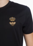 Тишърт с апликирано лого Ermenegildo Zegna Luxury Leisurewear-Copy