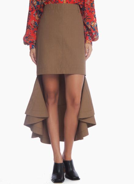Асиметрична пола Givenchy