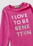 Блуза с тематичен принт Benetton-Copy