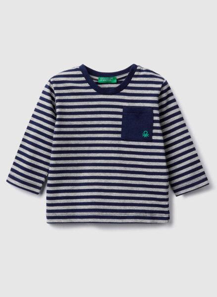 Раирана блуза Benetton Kids