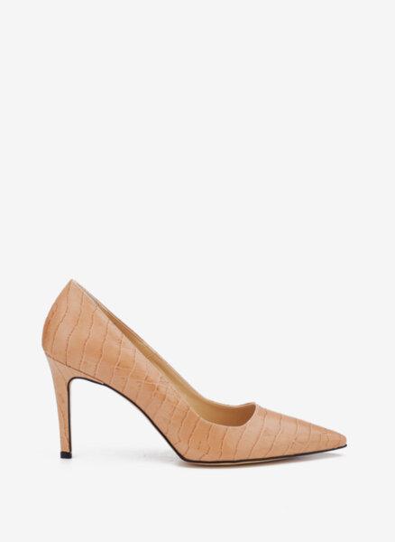 Обувки на ток с 'Crocodile' принт Pennyblack