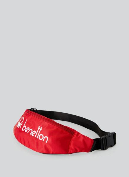 Чанта за кръста с лого Benetton
