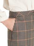 Кариран панталон с чиста вълна Marc Cain Collections