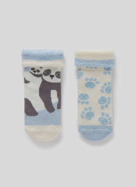 Чорапи със стопери Benetton Kids